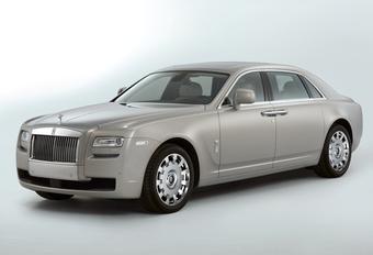 Rolls-Royce Ghost LWB #1