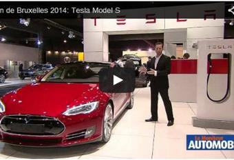 Vidéo salon : Tesla Model S #1