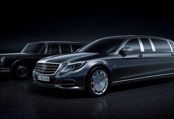 Salon Genève 2015 : Mercedes-Maybach Pullman, Le Luxe tout simplement #1