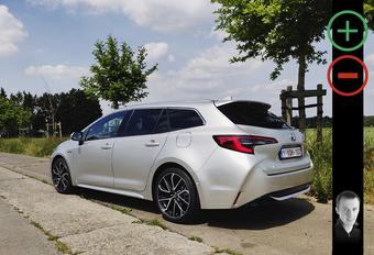 Toyota Corolla Touring Sports 2.0 Hybrid: avantages et inconvénients #1