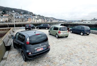 Citroën C3 Picasso 1.6 HDi 90, Hyundai Matrix 1.5 CRDi 110, Nissan Note 1.5 dCi 85, Opel Meriva 1.7 CDTI 100 & Renault Grand Modus 1.5 dCi 85 : Lenteschoonmaak #1