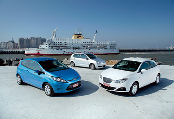 Ford Fiesta Econetic, Seat Ibiza Ecomotive & VW Polo BlueMotion : Chasseuses de primes #1