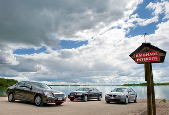 Audi A6 2.0 TDI, BMW 520d & Mercedes E 220 CDI : La guerre des trois #1