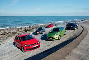 Ford Fiesta 1.6 TDCi 90, Opel Corsa 1.3 CDTi 90, Peugeot 207 1.6 HDi 90, Renault Clio 1.5 dCi 85 & Volkswagen Polo 1.6 TDI 90 : Benchmarking #1