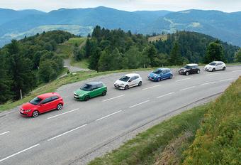 Mini Cooper S, Renault Clio RS, Volkswagen Polo GTI, Alfa Romeo MiTo Quadrifoglio Verde, Abarth Punto Evo, Skoda Fabia RS :  Kleine furies #1