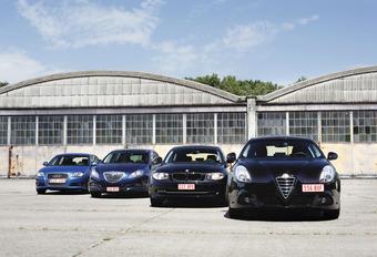 Audi A3 Sportback 1.6 TDI, Lancia Delta 1.6 MJET, BMW 116d en Alfa Giulietta 1.6 JTDM : Vendetta #1