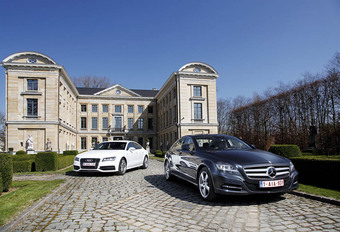 Audi A7 Sportback 3.0 vs Mercedes CLS 350 CDI : Perfecte reisgezellen #1