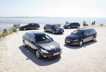 Citroën C5 Tourer - Opel Insignia Sports Tourer - Peugeot 508 SW - Renault Laguna Grandtour - Volkswagen Passat Variant :  The big five #1