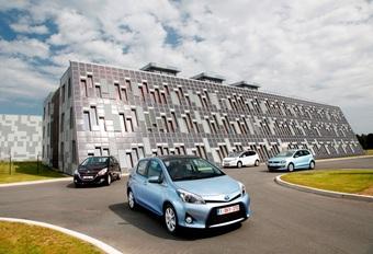 Honda Jazz Hybrid, Peugeot 208 1.2 VTi, Toyota Yaris Hybrid en Volkswagen Polo 1.6 TDI BlueMotion : Centen tellen #1