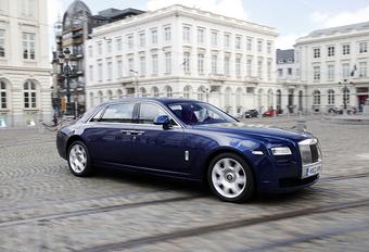 Rolls-Royce Ghost EWB #1