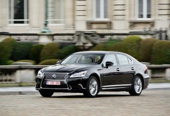Lexus LS 600h L #1