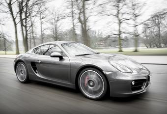 Porsche Cayman S #1