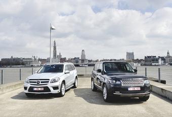 Mercedes GL vs Range Rover : Le gratin de tout terrain #1