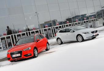 Audi A3 Sportback 1.8 TFSI A vs Volvo V40 T4 : Enquête de raffinement #1