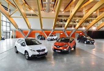 Nissan Juke 1.5 dCi110, Opel Mokka 1.7 CDTI, Peugeot 2008 1.6 e-HDI 115, Renault Captur 1.5 dCi 90 en Skoda Yeti 1.6 TDI 105 : Stoere jongens #1