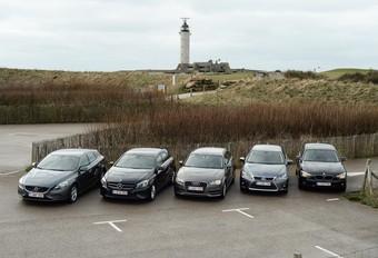 Audi A3 1.6 TDI Ultra, BMW 116d EfficientDynamics Edition, Lexus CT 200h, Mercedes A 180 CDI BlueEfficiency Edition et Volvo V40 D2 : Economie et ambition #1