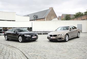 Audi A5 Sportback 2.0 TDI en BMW 418d Gran Coupé : Coupés voor twijfelaars #1