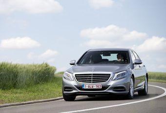 Mercedes S 300 BlueTEC Hybrid #1