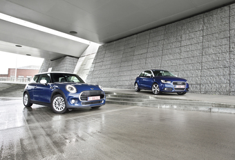 Audi A1 1.6 TDI 105 vs Mini One D : L'ancienne & la nouvelle #1