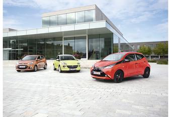Hyundai i10 1.0, Opel Adam 1.2 et Toyota Aygo 1.0 : Souris grise ou objet de mode #1