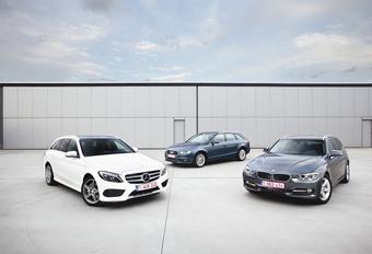 Audi A4 2.0 TDI 150, BMW 320d et Mercedes C 220 BlueTEC : Break, mon beau break #1