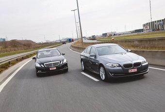 BMW 530dA BLUEPERFORMANCE • MERCEDES E 350 CDI BLUETEC : Oude vetes #1