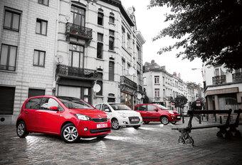 FIAT PANDA 0.9 TWINAIR // SKODA CITIGO 1.0 // SUZUKI ALTO 1.0 FIAT DOET : Kwik, Kwek en Kwak #1