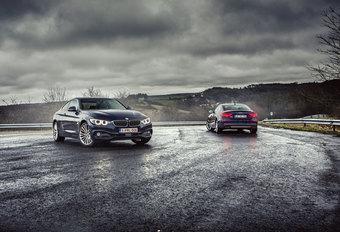 AUDI S5 QUATTRO C www.autowereld.be OUPE // BMW 435i xDRIVE COUPE : Oefenmatch #1
