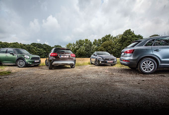 AUDI Q3 2.0 TDI // MERCEDES GLA 200 CDI // MINI COUNTRYMAN COOPER D // VOLVO V40 CROSS COUNTRY D2 : Womanisers #1