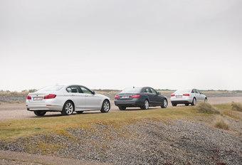 AUDI A6 3.0 TDI 204 MULTITRONIC • BMW 525dA • MERCEDES E 300 CDI : De derde hond #1