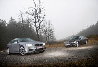 BMW M5 • MERCEDES E 63 AMG : Koningskwestie #1