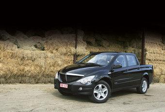 SSANGYONG ACTYON SPORTS Xdi 200 4WD : Voorbij boer en tuinder? #1