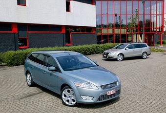 FORD MONDEO 2.0 TDCi CLIPPER • VW PASSAT 2.0 TDI VARIANT : Revanche? #1
