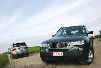 BMW X3 2.5si & 3.0sd : De kleren maken de man #1