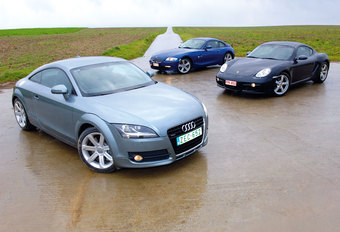 AUDI TT 3.2 V6 • BMW Z4 COUPE 3.0si • PORSCHE CAYMAN : Bully-proof? #1