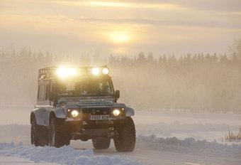 DEFENDER BIGFOOT (2012) - Sneeuwtest #1