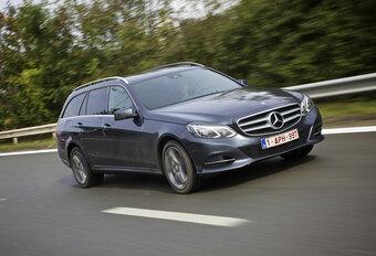LANGEDUURTEST: Mercedes E 300 Bluetec Hybrid Break (slot) #1