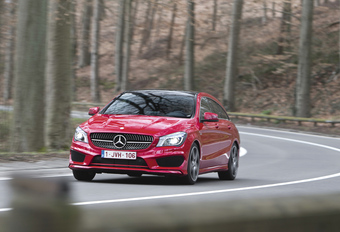 Mercedes CLA 250 A 4Matic Shooting Brake #1