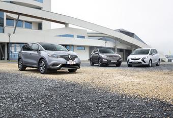 Hyundai Santa Fe, Opel Zafira Tourer en Renault Espace : De lakmoes #1