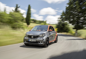 Smart Forfour 1.0 71 Twinamic (2015) #1