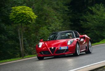 Alfa 4C Spider: ébouriffante! #1