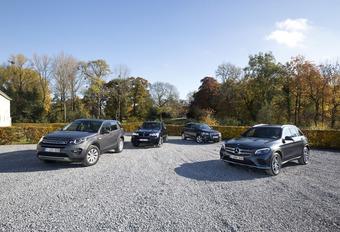 Mercedes GLC face à la BMW X3, Audi Q5 et Discovery Sport #1