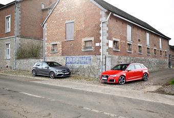 Audi RS3 contre Mercedes A45 AMG : Bras de fer #1