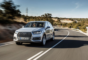 Audi Q7 e-tron 3.0 TDI quattro : Chères économies #1