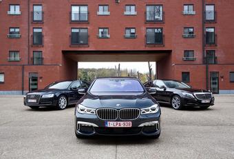 BMW 730d face à l'Audi A8 et la Mercedes Classe S 350d #1