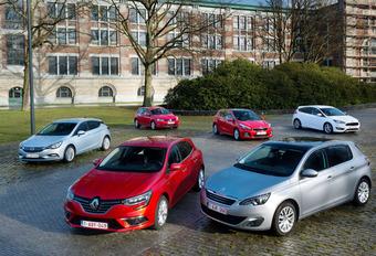 Renault Mégane face à 5 berlines compactes #1