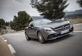 Mercedes SLC: krachtige wind #1
