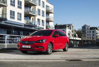 Opel Astra Sports Tourer 1.4 Turbo 125 ch : Capacité et élégance #1