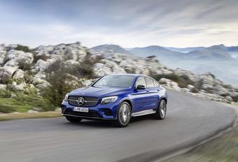 Mercedes GLC Coupé: dynamische stijl #1