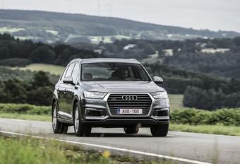 Audi Q7 e-Tron : Conduite politique #1